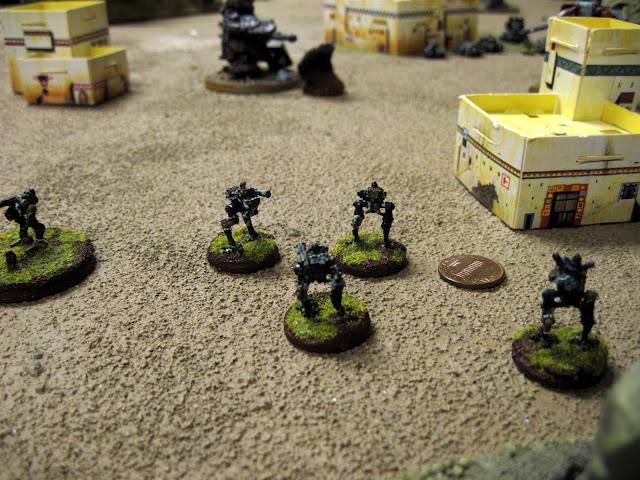 Sentinel Pilots converse about the Commissar's motivational methods.