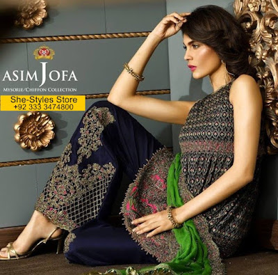 Asim Jofa Luxury Eid ul-Fitr Collection 2017-208