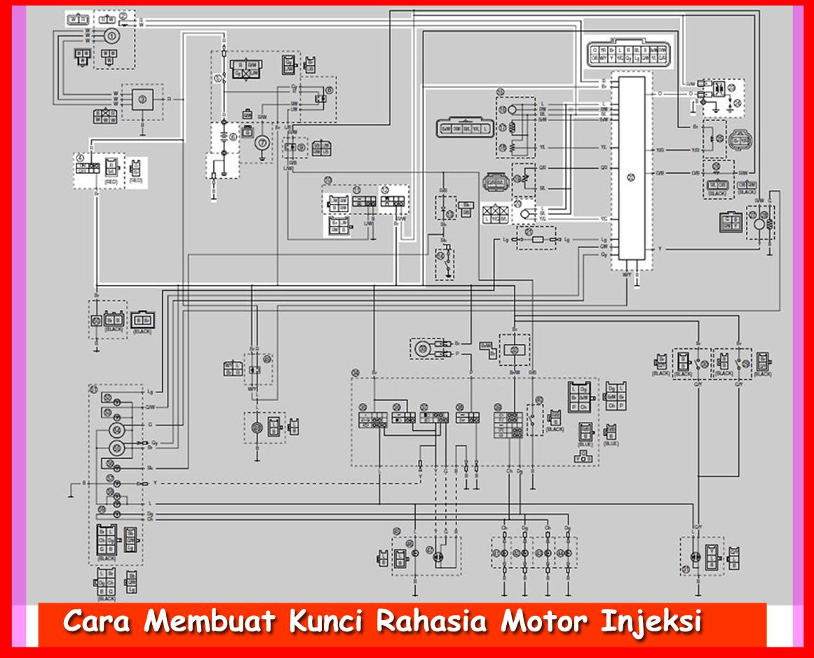 Cara Membuat Kunci Rahasia Motor Injeksi Otokawancom Cara