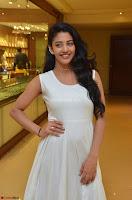 Daksha Nagarkar Cute Beauty in Sleeveless White Dress at Khwaaish Exhibition Launch 2017 ~  Exclusive 020.JPG