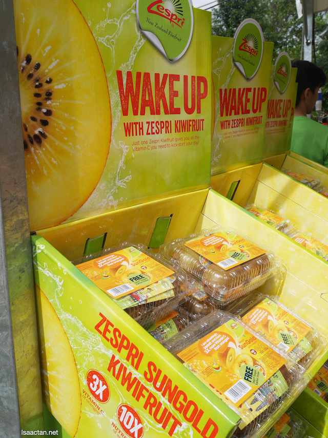 Sold at a massive discounted rate during the Zespri SunGold KiwiFest 2016 @ Desa Parkcity
