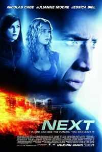 Next (2007) Dual Audio 300mb Hindi Download BRRip 480p