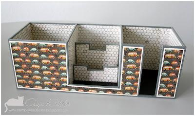 bastelblog von anja katy schreibtischorganizer. Black Bedroom Furniture Sets. Home Design Ideas