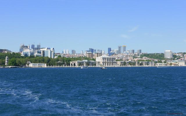 Okolo Bosporu, Európska strana, Istanbul, Turecko