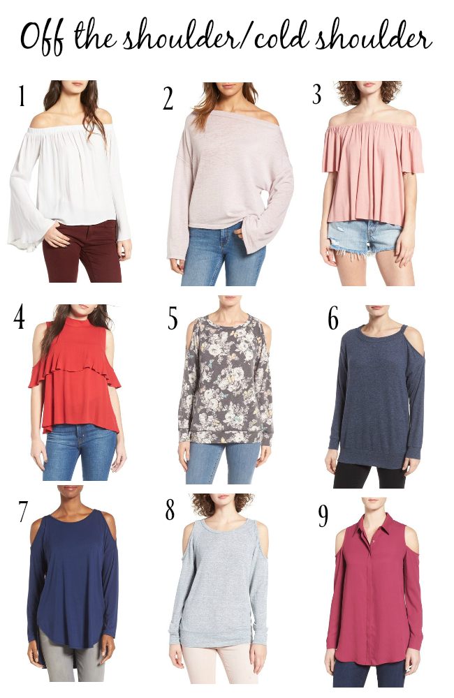 Favorite Trendy Tops for Spring