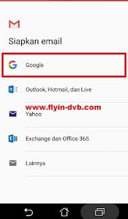 Cara Membuat Akun Gmail Tanpa No HP langkah 2