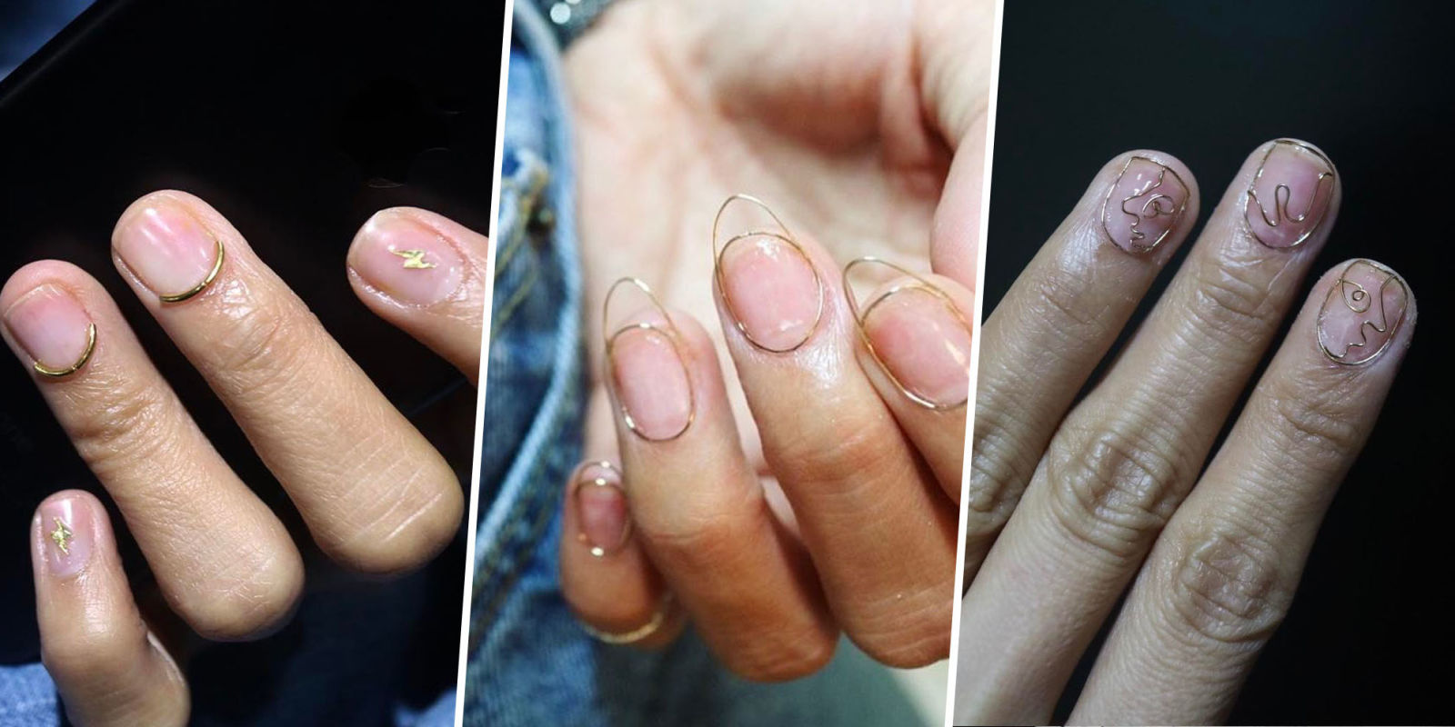 Wire Nail Art: Jaw dropping Weird Manicure Trend