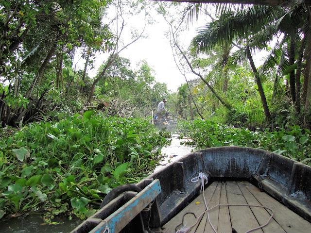 stuck canal mekong delta vietnam