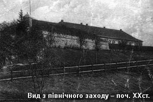 Вид замку з північного заходу на поч. XXст.