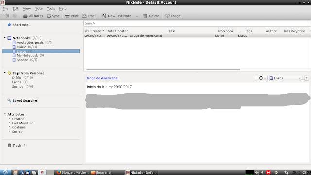 NixNote, um cliente do Evernote para Ubuntu
