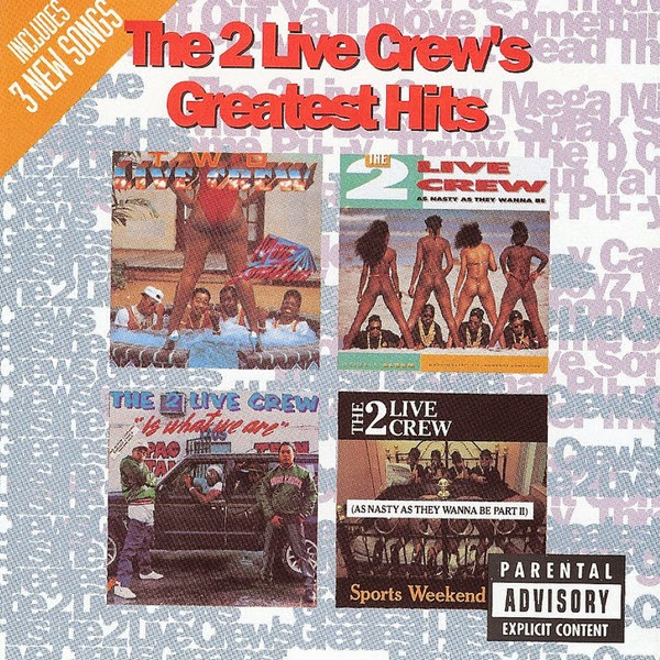 2 Live Crew - 2 Live Crew's Greatest Hits - Album  Cover