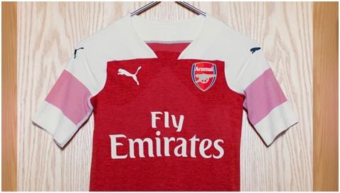Desain Puma Untuk Jersey Arsenal Musim 2018/2019