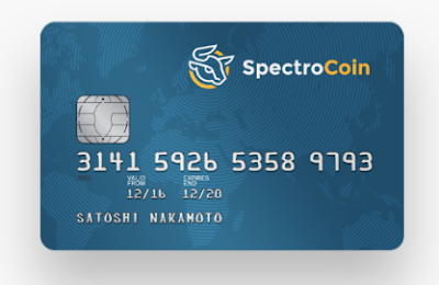 BTC debit Card