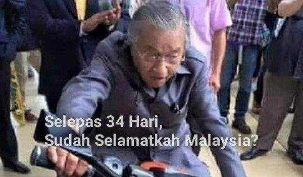 Selepas 34 Hari, Sudah Selamatkah Malaysia?