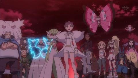 Capitulo 42 Temporada 19: ¡Sacudiendo las defensas de Kalos!