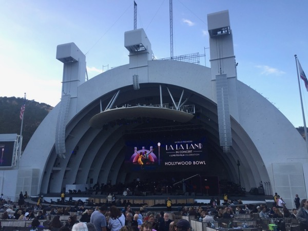 Hollywood Bowl La La Land concert May 2017