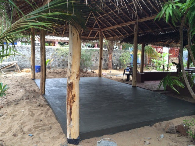 Yoga Hall Completed