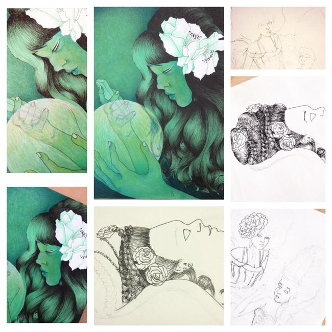Sketchbook Round-Up: Volume 19 | Yeti Crafts