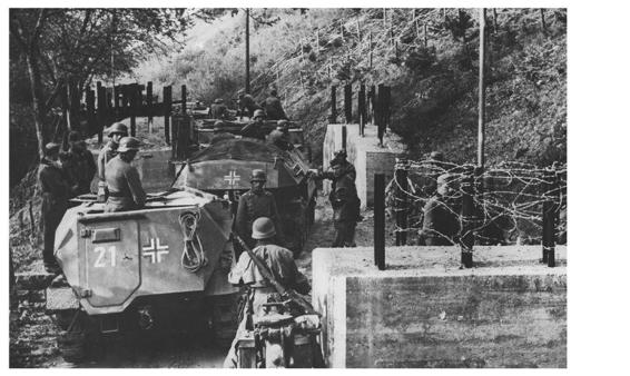 11 May 1940 worldwartwo.filminspector.com Ardennes German convoy