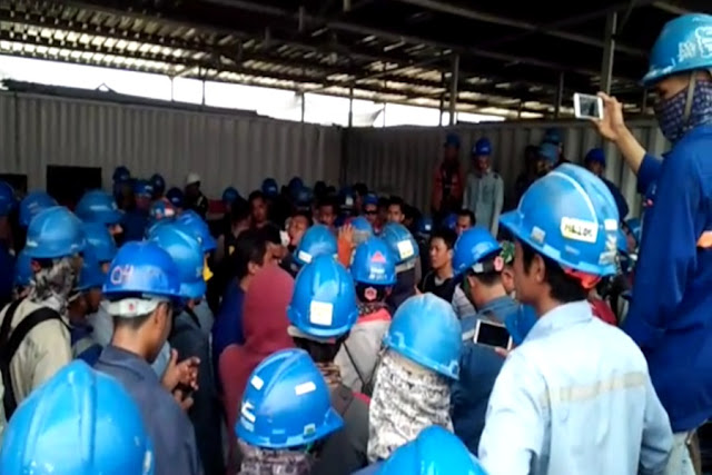 Pekerja Lokal PLTU Jawa VII Dipukul TKA China