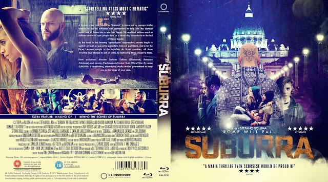Suburra Bluray Cover