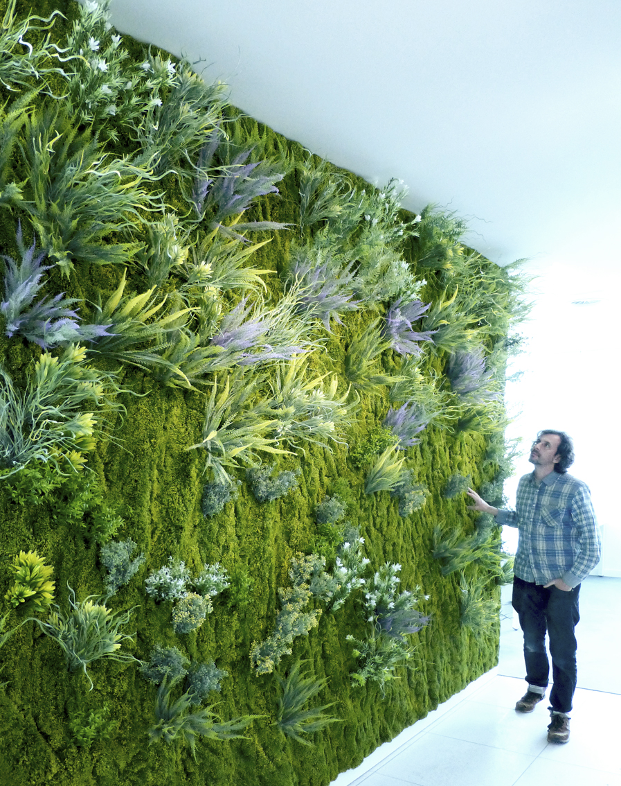 Cuaderno de campo y taller jard n vertical artificial for Jardin vertical liofilizado