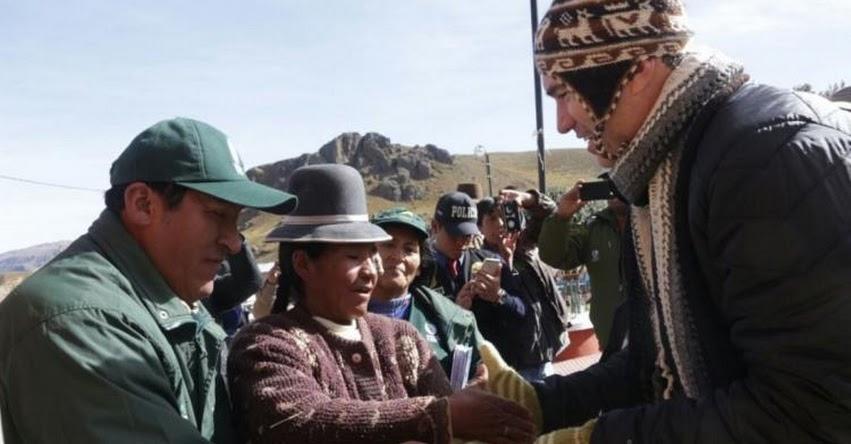 Ministro de Cultura supervisa en Puno ejecución de Plan Antes Perú - www.cultura.gob.pe