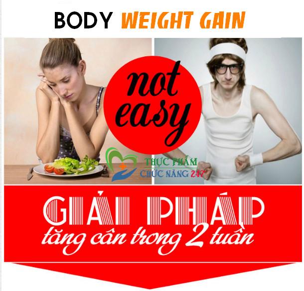 Thuốc tăng cân trong 2 tuần ! Body Weight Gain của Nhật