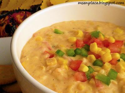 Corn Maque Choux Dip