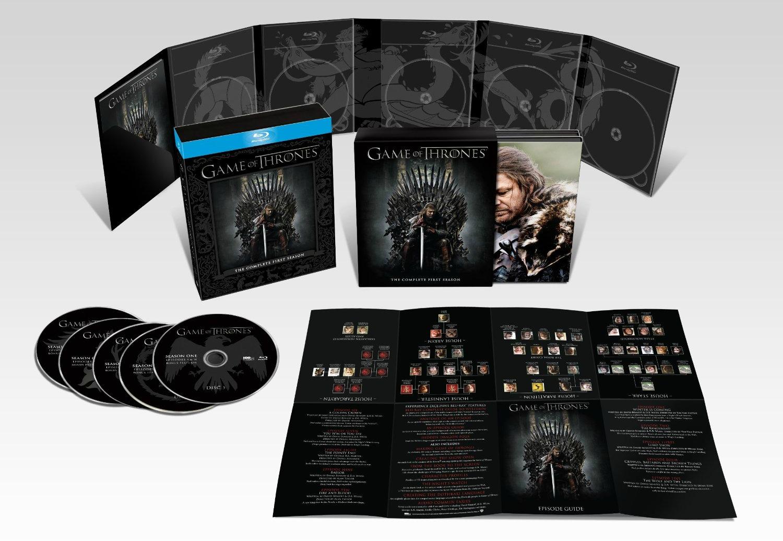 The Wertzone Game Of Thrones Season 1 Dvd Release Details