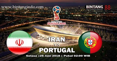 PREDIKSI Iran vs Portugal 26 JUNI 2018