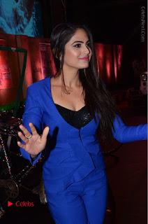 Actress Naina Ganguly Stills in Blue Dress at RGV Shiva to Vangaveeti Event  0007.JPG
