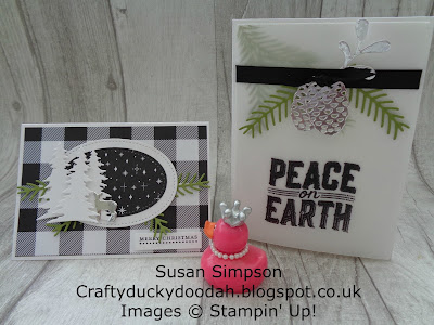 Stampin' Up! UK Independent  Demonstrator Susan Simpson, Craftyduckydoodah!, Carols of Christmas, Christmas Pines. Pretty Pines,Coffee & Cards Project, Supplies available 24/7 from my online store,