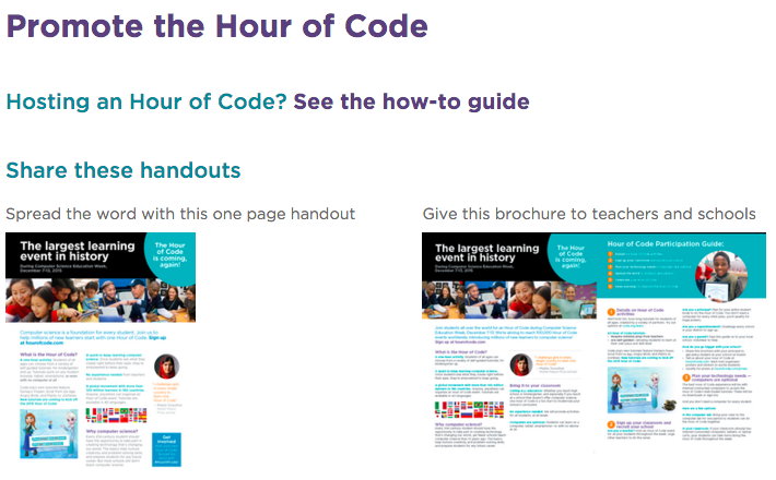 The Library Voice: Hour Of Code from Code org Is Right