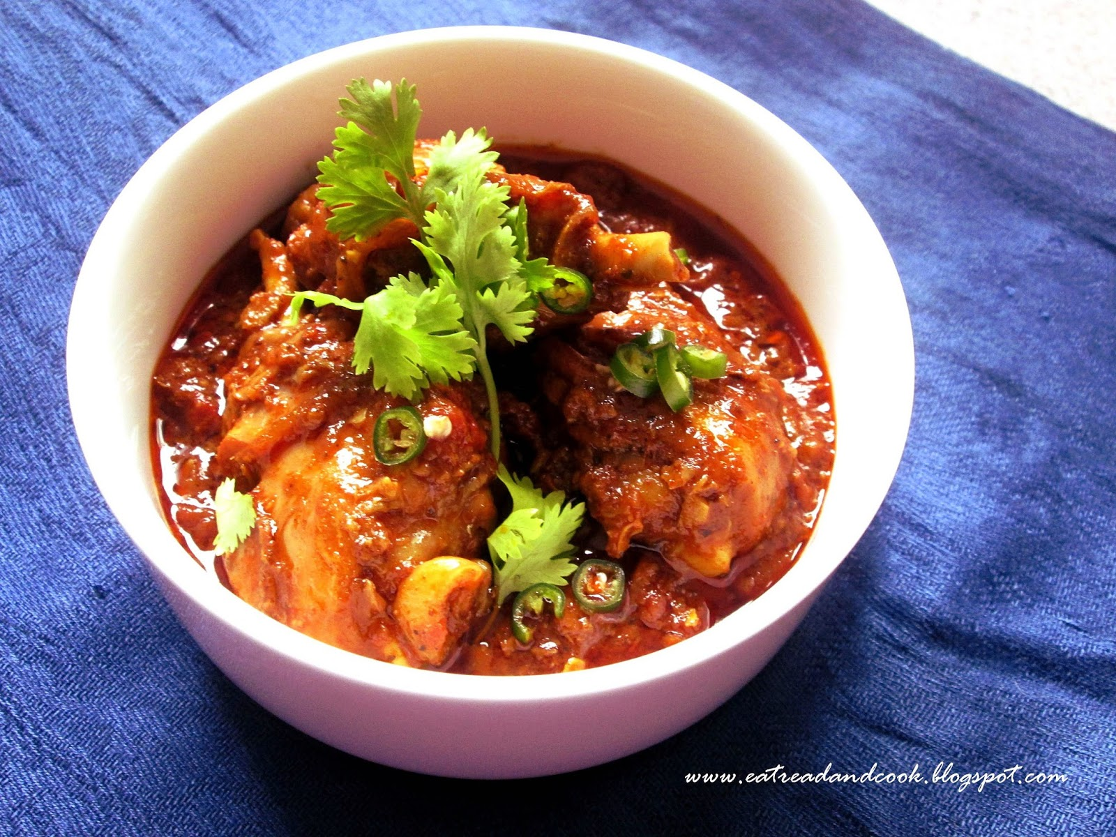 how to cook goan authentic chicken vindaloo