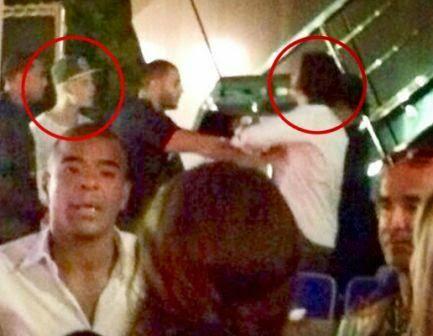 Justin Bieber y Orlando Bloom pelea