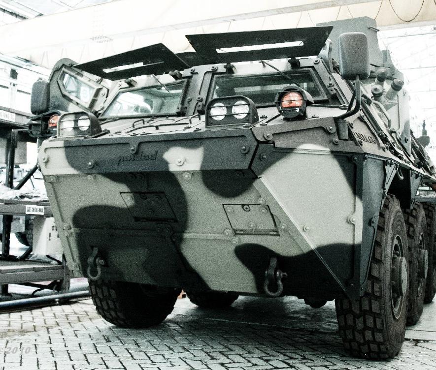 Panser Anoa II MG Produksi PT  Pindad