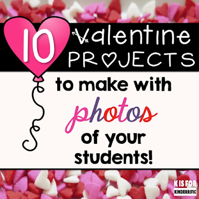 a candy heart to cut out for valentine's day - k is for kinderrific 10 valentine photo projects