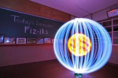 esfera llena de luz