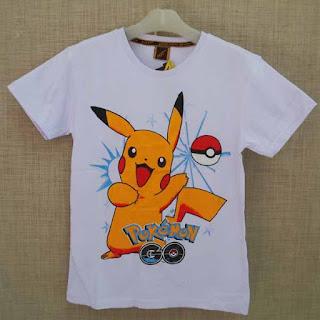 Kaos Pokemon Informasi Harga dan Gambar Desain Kaos Pokemon