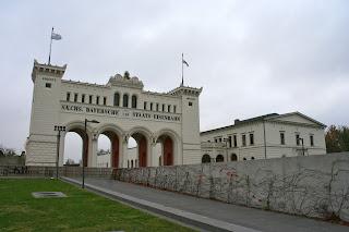 Portikus am Bayerischen Bahnhof Leipzig