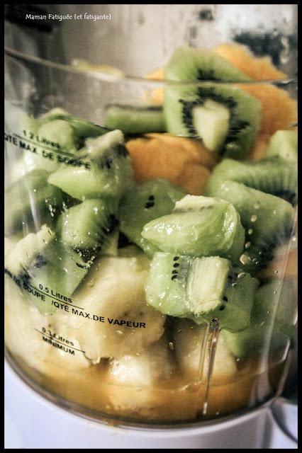 smoothy mangue kiwi