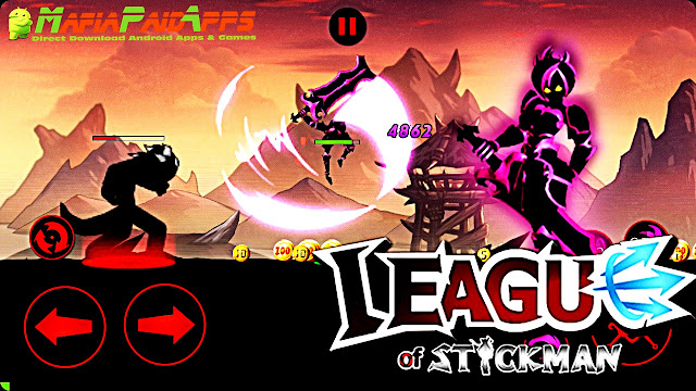 League of Stickman 2018- Arena PVP (Dreamsky) Apk MafiaPaidApps