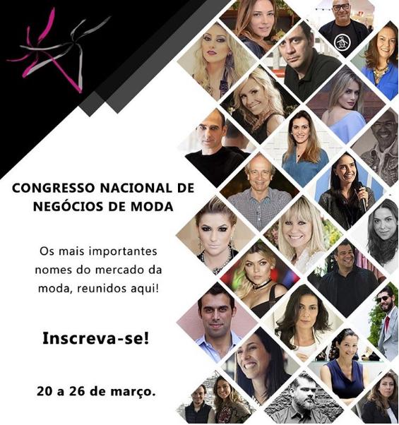 PRIMEIRO CONGRESSO DE MODA NO BRASIL ONLINE E GRATUITO