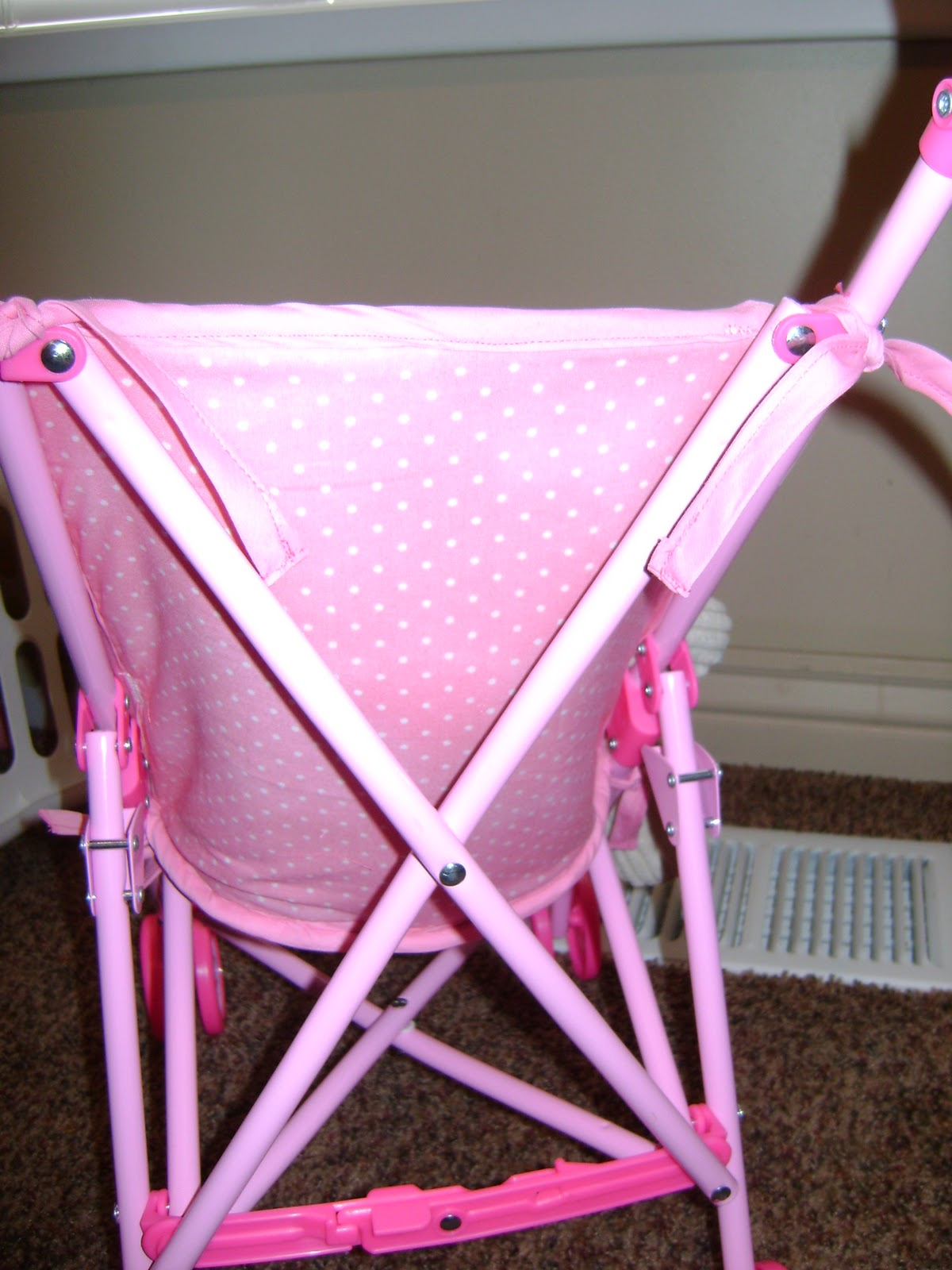 Sewin Sanity: making a replacement seat for a doll stroller