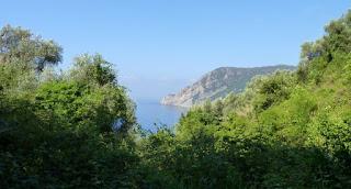 Sendero Azul de Cinque Terre.