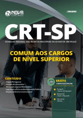 Apostila Concurso CRT SP 2020 Comum aos Cargos de Nível Superior Grátis Cursos Online