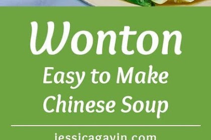 Easy Homemade Wonton Soup