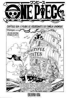 One Piece 864 Mangá – Português