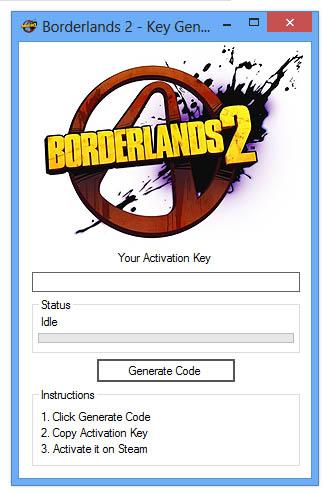 Borderlands Keygen